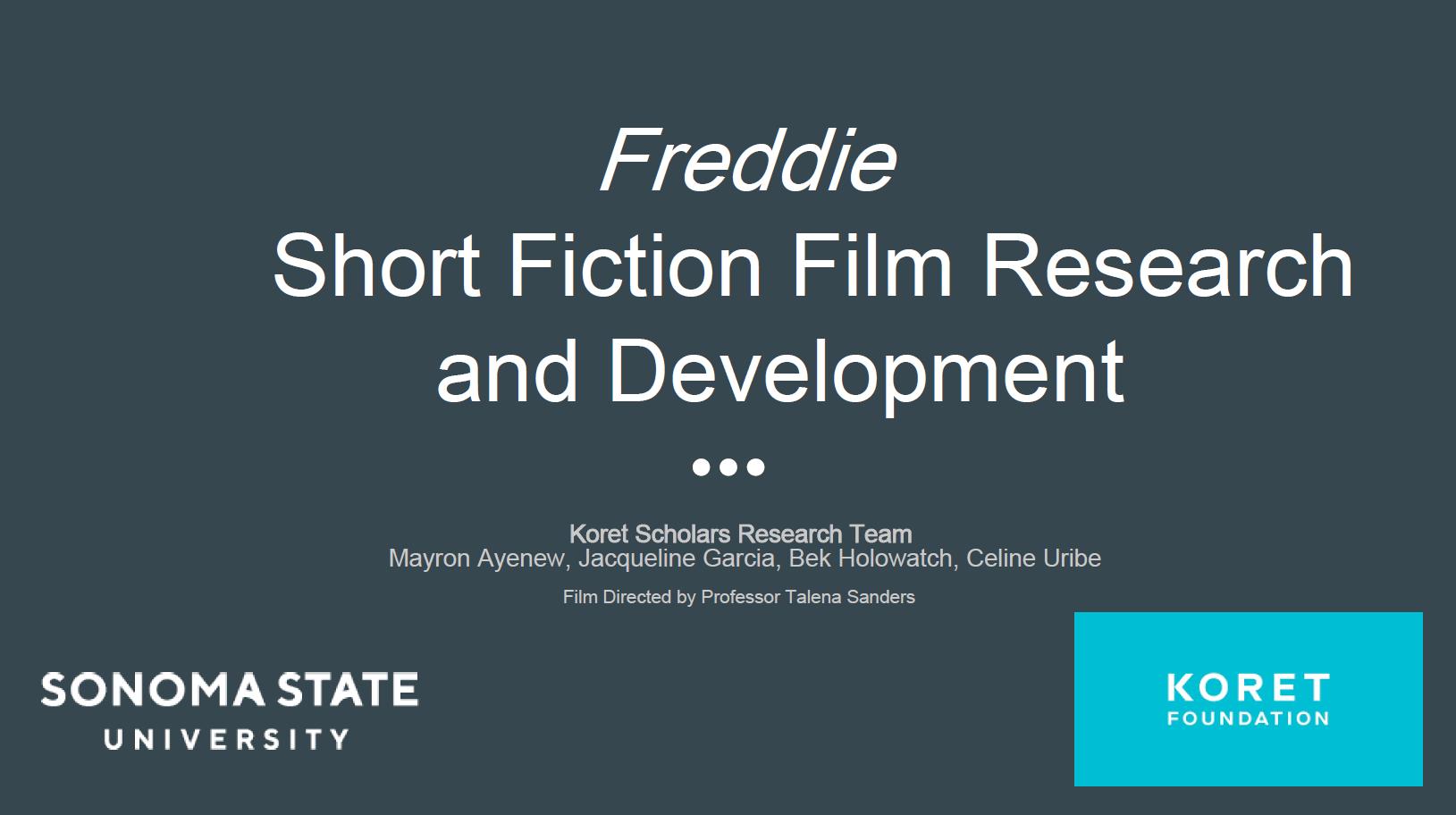 Image of Slide Presentation Title Page